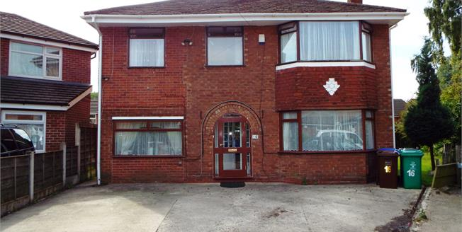 Offers Over £415,000, 5 Bedroom Detached House For Sale in Manchester, M16
