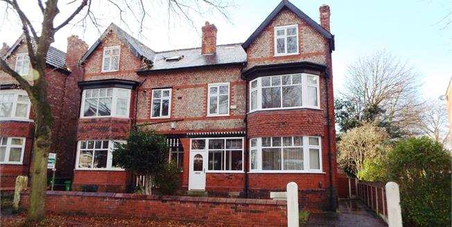 Guide Price £565,000, 5 Bedroom Semi Detached For Sale in Manchester, M16