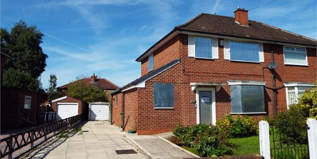 Guide Price £200,000, 3 Bedroom Semi Detached House For Sale in Manchester, M16