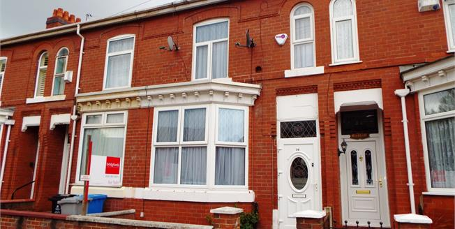 Offers Over £180,000, 3 Bedroom Terraced House For Sale in Manchester, M16