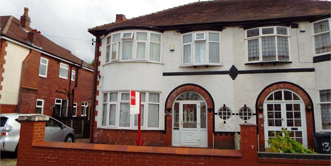 Guide Price £370,000, 4 Bedroom Semi Detached House For Sale in Manchester, M16