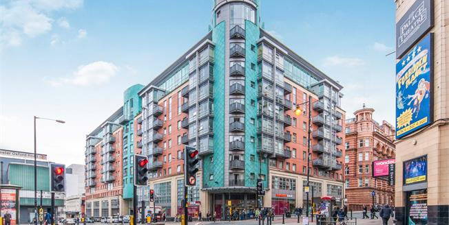 Guide Price £425,000, 3 Bedroom Flat For Sale in Manchester, M1