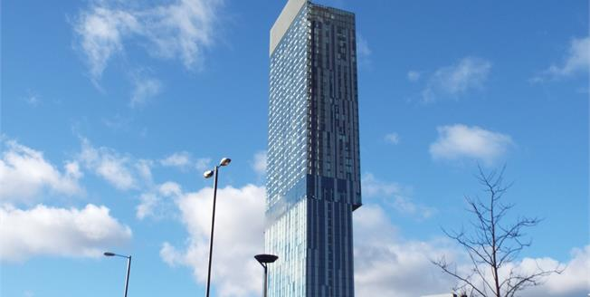 Guide Price £420,000, 2 Bedroom Flat For Sale in Manchester, M3