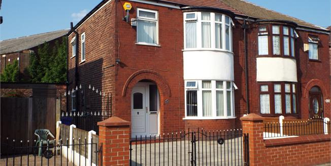 Offers Over £120,000, 3 Bedroom Semi Detached House For Sale in Manchester, M40