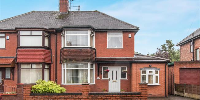 Offers Over £150,000, 3 Bedroom Semi Detached House For Sale in Manchester, M40