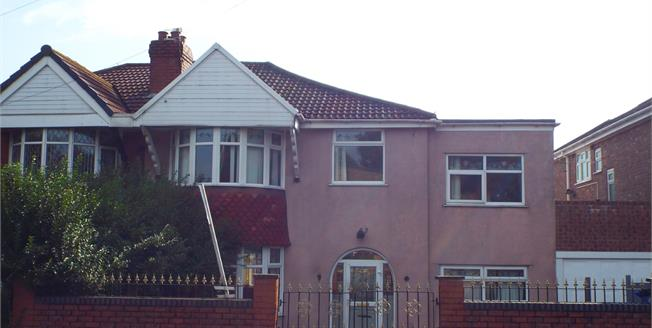 Guide Price £185,000, 4 Bedroom Semi Detached House For Sale in Manchester, M8