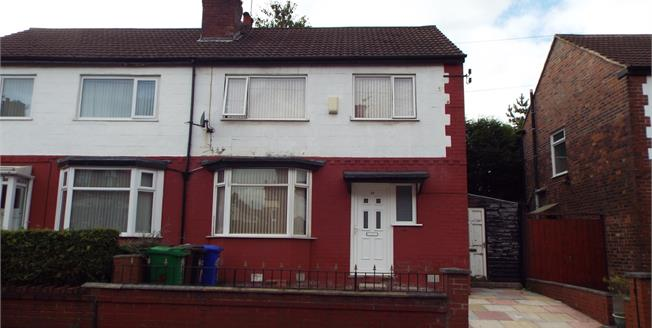 Guide Price £150,000, 3 Bedroom Semi Detached House For Sale in Manchester, M8