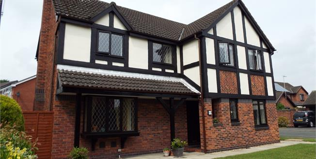 Asking Price £315,000, 4 Bedroom For Sale in Crewe, CW2