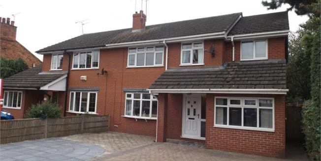 Guide Price £197,950, 6 Bedroom Semi Detached House For Sale in Haslington, CW1