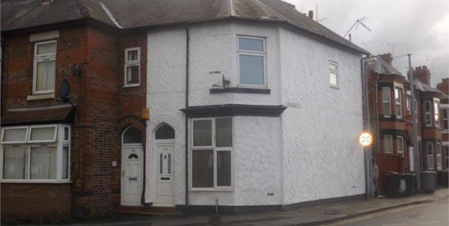 £97,500, 3 Bedroom End of Terrace House For Sale in Crewe, CW2