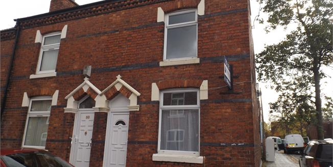Offers in the region of £80,000, 2 Bedroom End of Terrace House For Sale in Crewe, CW1