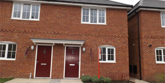 Asking Price £96,000, 2 Bedroom Semi Detached House For Sale in Crewe, CW1