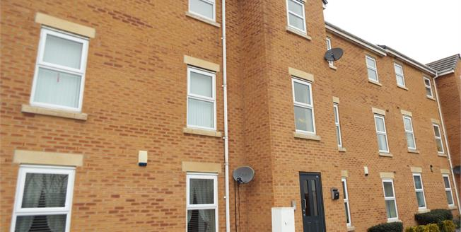 Asking Price £87,500, 2 Bedroom Flat For Sale in Crewe, CW2