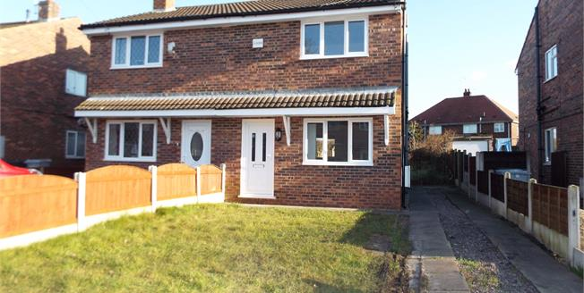 Asking Price £99,950, 2 Bedroom Semi Detached House For Sale in Crewe, CW1