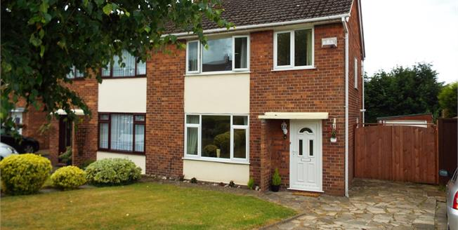 Guide Price £124,250, 3 Bedroom Semi Detached House For Sale in Crewe, CW1