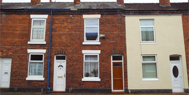 Asking Price £80,000, 2 Bedroom For Sale in Crewe, CW1