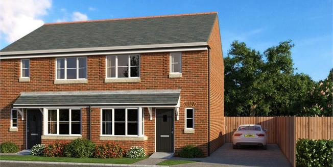 Asking Price £76,997, 2 Bedroom Semi Detached House For Sale in Crewe, CW2