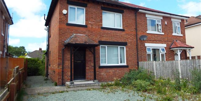 Asking Price £100,000, 3 Bedroom Semi Detached House For Sale in Crewe, CW2