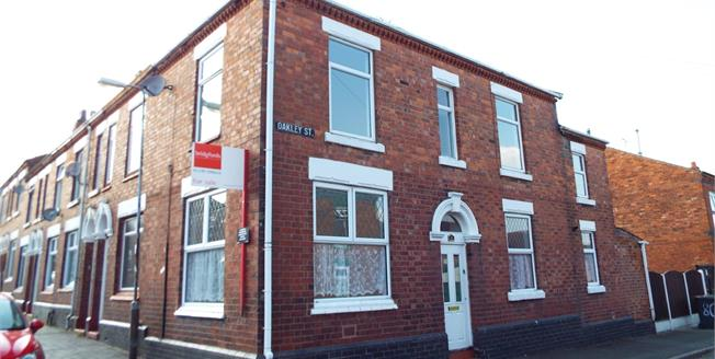 Asking Price £95,000, 2 Bedroom House For Sale in Crewe, CW1