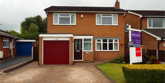 Guide Price £229,950, 4 Bedroom Detached House For Sale in Crewe, CW1