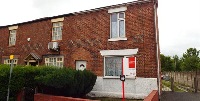 Guide Price £89,900, 2 Bedroom House For Sale in Crewe, CW1