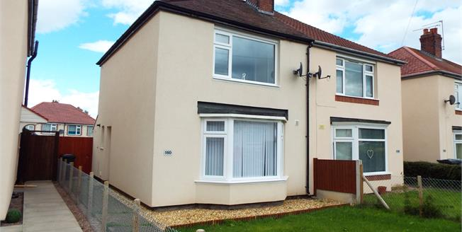 Offers Over £85,000, 2 Bedroom Semi Detached House For Sale in Crewe, CW1