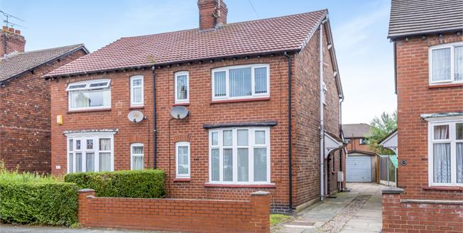 Guide Price £145,000, 3 Bedroom Semi Detached House For Sale in Crewe, CW2