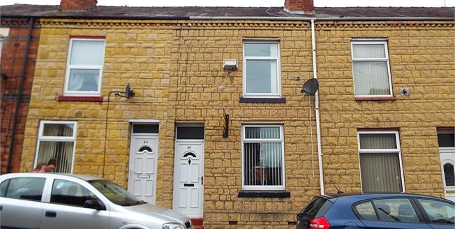 Guide Price £70,000, 2 Bedroom Terraced House For Sale in Crewe, CW1