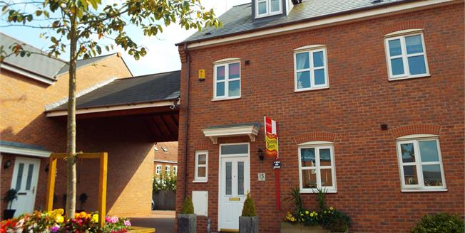 Guide Price £189,950, 4 Bedroom Semi Detached House For Sale in Weston, CW2
