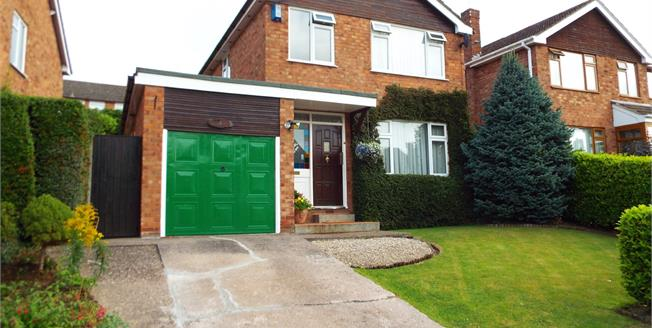 Guide Price £195,000, 3 Bedroom Detached For Sale in Crewe, CW2
