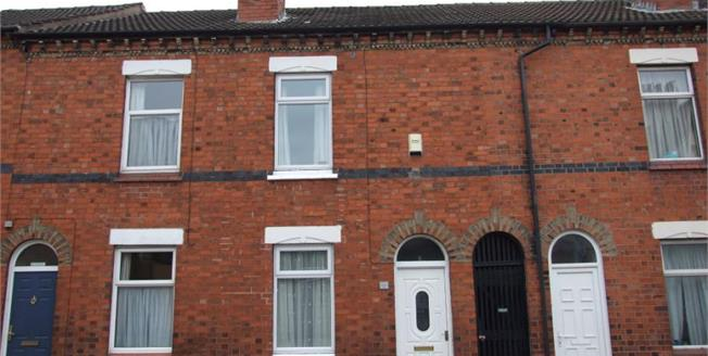 £85,000, 2 Bedroom Terraced House For Sale in Crewe, CW2