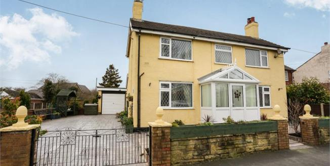 £235,000, 3 Bedroom Detached House For Sale in Crewe, CW1