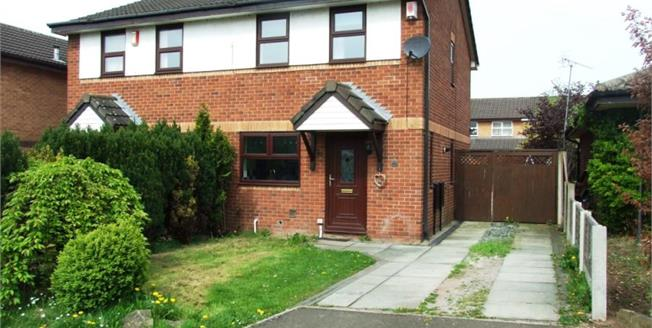 Offers Over £120,000, 3 Bedroom Semi Detached House For Sale in Crewe, CW1
