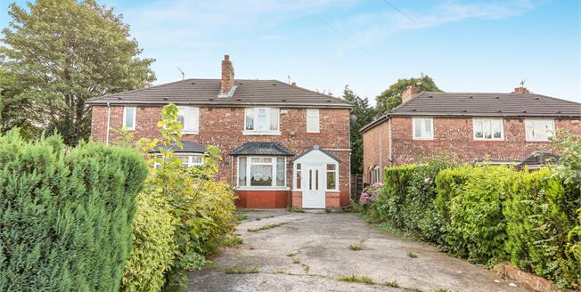 Guide Price £185,000, 4 Bedroom Semi Detached House For Sale in Manchester, M19