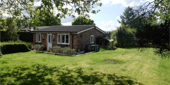 Offers Over £250,000, 2 Bedroom Detached Bungalow For Sale in Pickmere, WA16