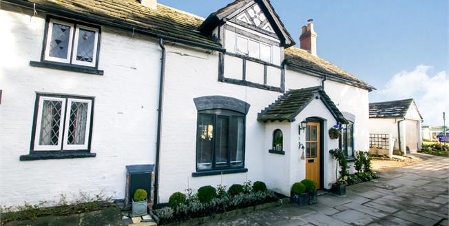 Offers in the region of £445,000, 3 Bedroom Cottage For Sale in Chelford, SK11