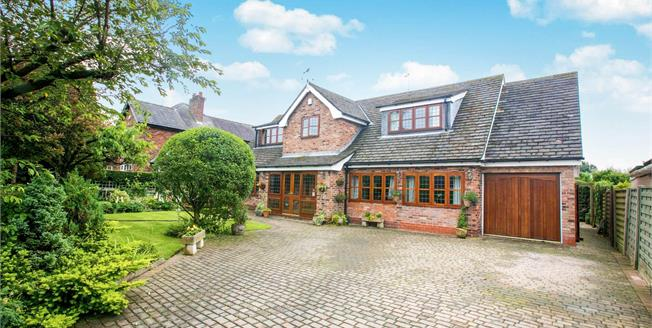 Asking Price £650,000, 3 Bedroom Detached House For Sale in Mobberley, WA16
