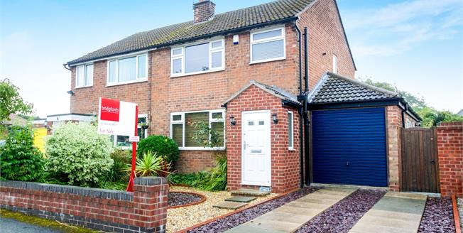 Guide Price £290,000, 3 Bedroom Semi Detached House For Sale in Mobberley, WA16