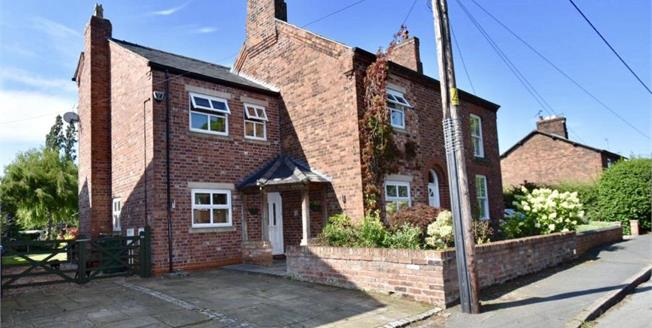 Guide Price £475,000, 4 Bedroom Semi Detached House For Sale in Comberbach, CW9