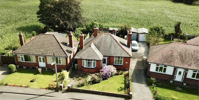 Guide Price £225,000, 2 Bedroom Detached Bungalow For Sale in Marston, CW9