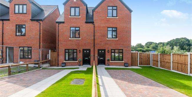 £245,000, 4 Bedroom Semi Detached House For Sale in The Old Coach House, CW8