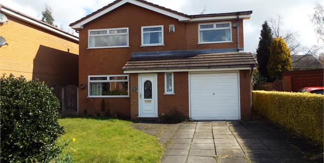 Offers Over £220,000, 4 Bedroom Detached House For Sale in Leigh, WN7