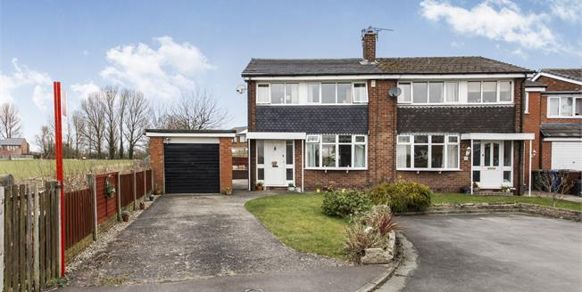 Offers Over £175,000, 3 Bedroom Semi Detached House For Sale in Leigh, WN7