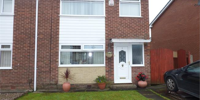 Asking Price £135,000, 3 Bedroom Semi Detached House For Sale in Leigh, WN7