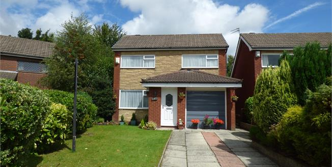 Asking Price £189,950, 3 Bedroom Detached House For Sale in Leigh, WN7