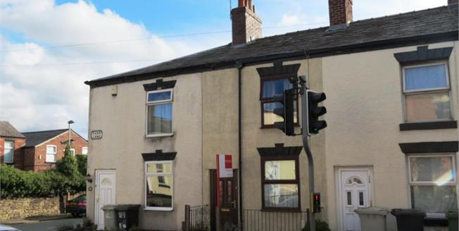 Guide Price £105,000, 2 Bedroom Terraced House For Sale in Macclesfield, SK11