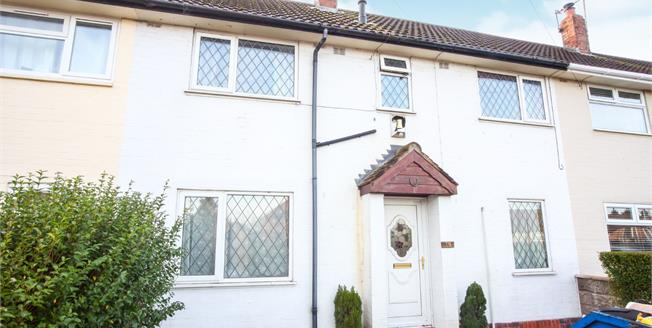 Guide Price £110,000, 3 Bedroom Terraced House For Sale in Congleton, CW12