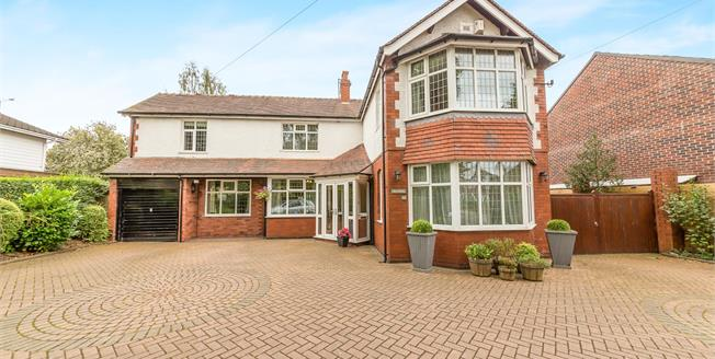 Offers Over £550,000, 5 Bedroom Detached House For Sale in Woodley, SK6