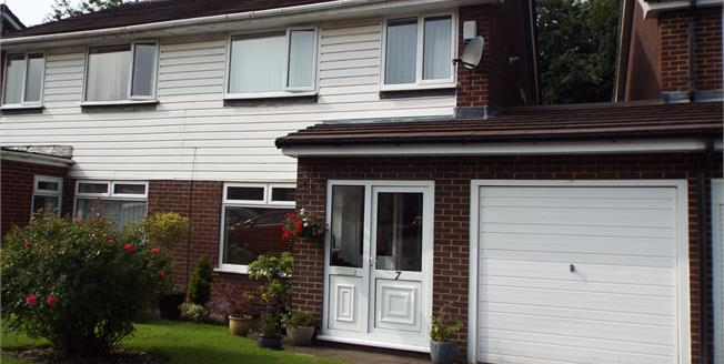 Offers Over £240,000, 3 Bedroom Semi Detached House For Sale in Marple, SK6