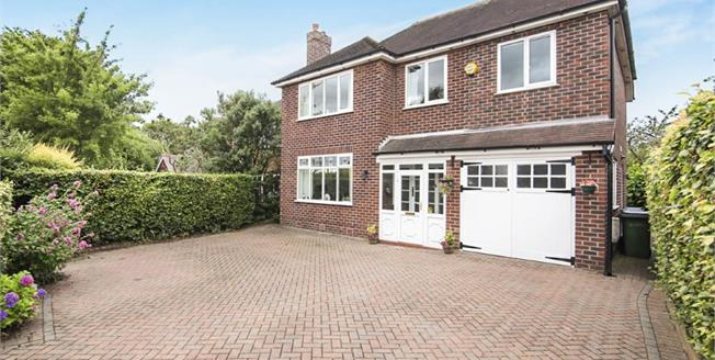 Asking Price £400,000, 4 Bedroom Detached House For Sale in Romiley, SK6